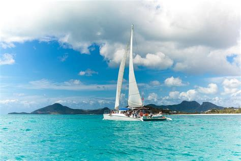 antigua tours and excursions caribbean adventure - Catamaran Sail And Snorkel Antigua
