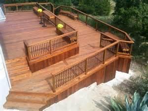 split level deck plans pin by ashley on home decor pinterest
