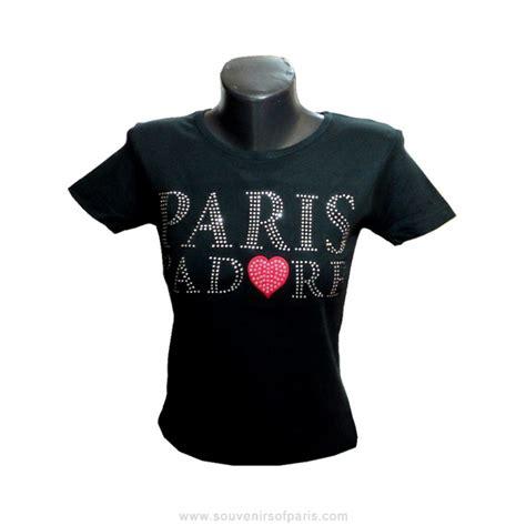 shirt strass paris jadore