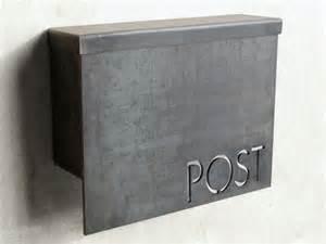 standard modern mailbox by austin outdoor studio