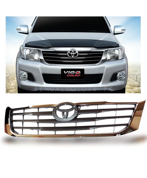 Toyota Calya Grill Radiator Front Grille Radiator Trim Chrome Buy Toyota Vigo Front Chrome Grille In Pakistan
