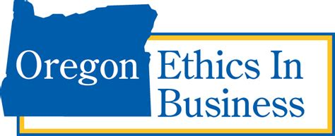 Of Portland Mba Non Profit by Oregon Ethics In Business Learning From The Best