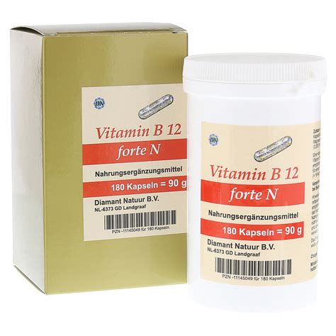 Vitamin N Vitamin B12 Forte N Kapseln 180 St 252 Ck Bestellen