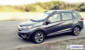 suv new cars launching india new upcoming suv cars in india 2016 2017 honda br v now