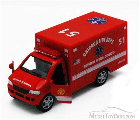 chicagoland rescue chicago rescue team ambulance kinsmart 5259dcg 5 quot diecast model car