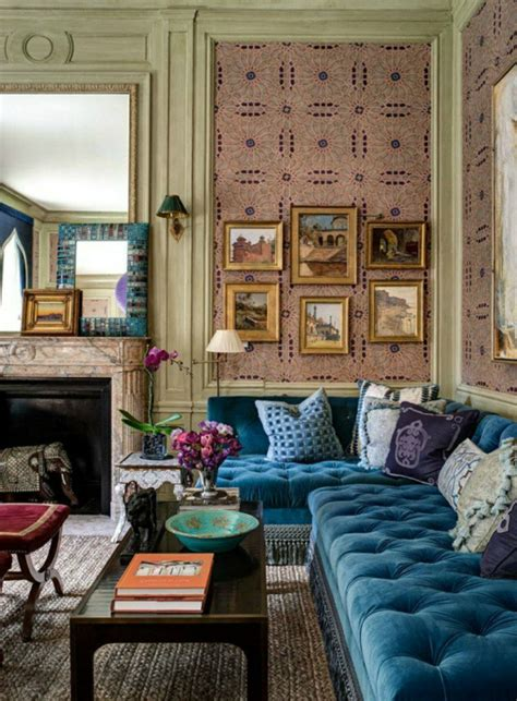 Blaues Sofa Welche Wandfarbe blaues sofa 50 einrichtungsideen mit sofa in blau die