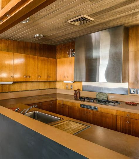 stylish mid century house with warm colored wood decor desert mid century modern edris house built in 1954 digsdigs