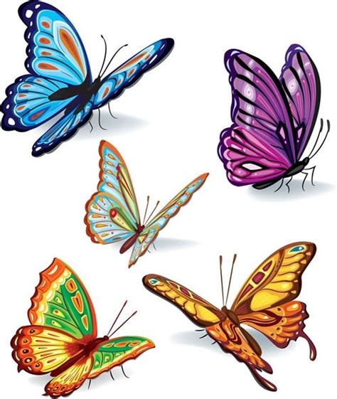 free butterfly vector art free vector download 215 037