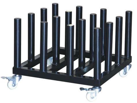 Vinyl Storage Rack by Organizer Rack Rolling Floor Rack For Vinyl Roll Storage