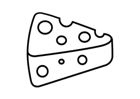 imagenes para pintar queso queso para colorear infantil imagui