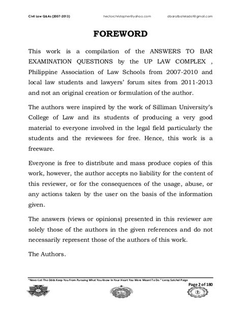 2007 2013 civil philippine bar questions and suggested answe