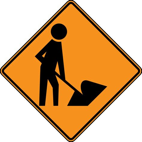 Construction Sign Printable