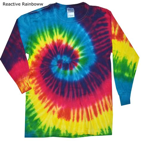 sleeve tie dye assorted colors sizes s 3xl dropship