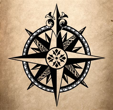 compass tattoo true north compass by ulvgar on deviantart