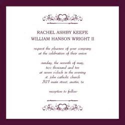 wedding invite template free wedding invitation cards templates