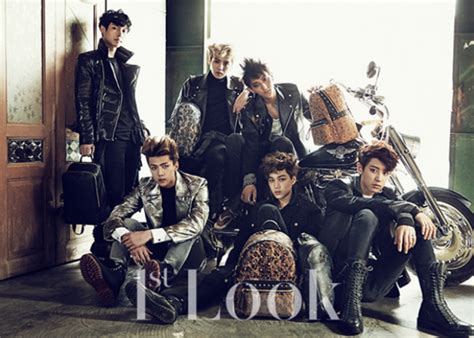 sinopsis film exo wolf exo gets rough and tough for first look magazine soompi