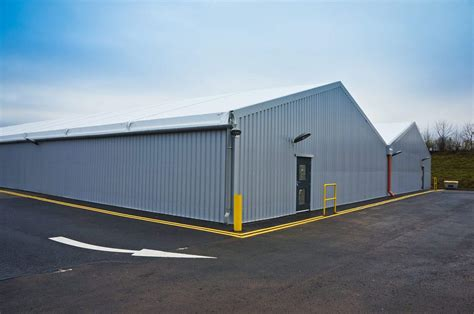 Modular Storage Shed by Modular Warehouse Protects Luxury Sports Cars Hts Industrial