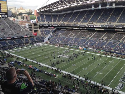 what sections are covered at centurylink field centurylink field section 330 seattle seahawks