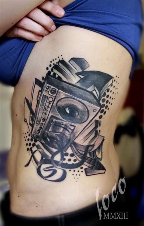 male hip tattoos boombox hiphop jpg 610 215 960 hiphop