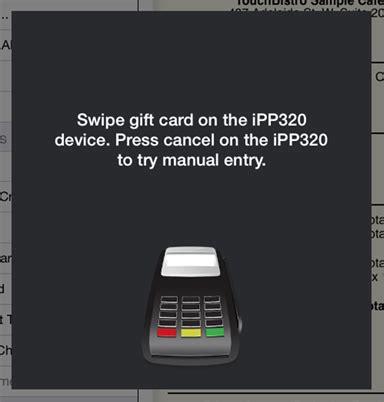 Moneris Gift Card Balance - using the moneris payment gateway touchbistro