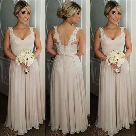 colored bridesmaid dresses best 20 chagne bridesmaid dresses ideas on