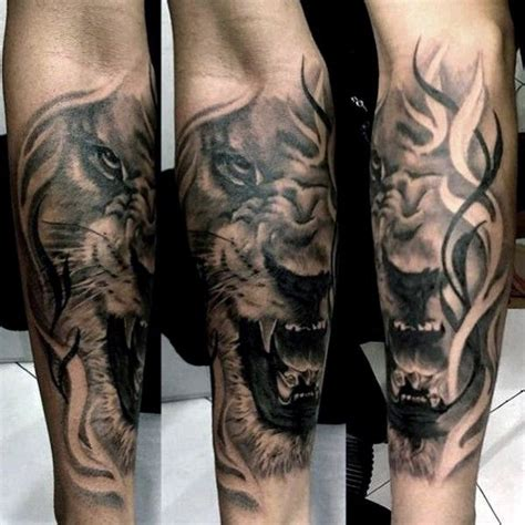 forearm lion tattoo 14 best lions images on ideas