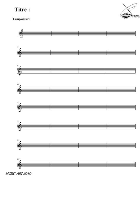 Téléchargement gratuit de Papier à Musique /#Blank #Score