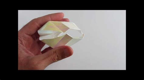 How To Make Paper Shells - origami clam shell hd