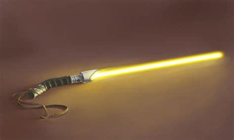 Yellow Light Saber by Ironcore Lightsaber By Jnetrocks On Deviantart