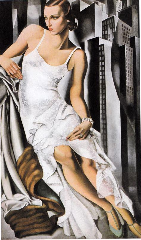 tamara de lempicka art portrait of mrs alan bott 1930 tamara de lempicka