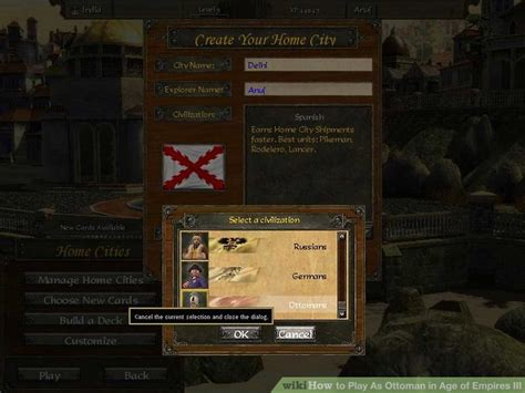 Age Of Empires 3 Ottoman Strategy How To Play As Ottoman In Age Of Empires Iii With Pictures