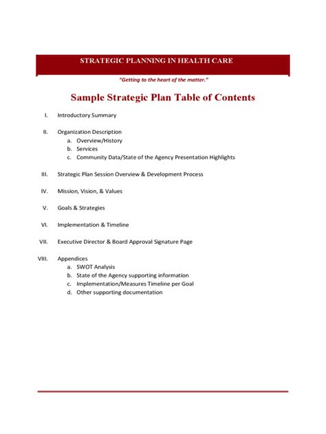 table of contents template 6 free templates in pdf word