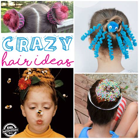 hair day ideas wacky hair styles hair day ideas for school activities