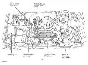 2000 Isuzu Rodeo Engine Diagram 2002 Isuzu Rodeo Crankshaft Position Sensor Location 2002