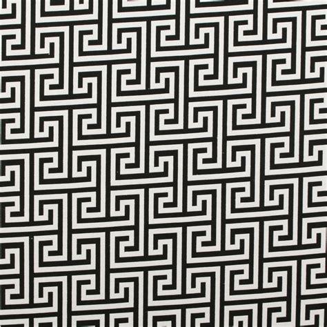 geometric fabric upholstery double sided black white jacquard geometric animals