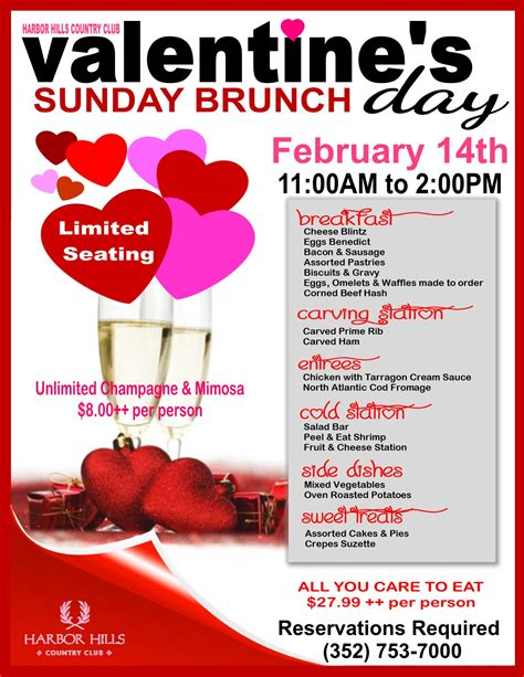 valentines day brunch harbor lake florida s custom home