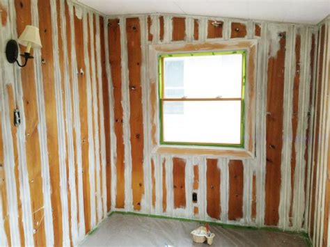 primer for wood paneling painting wood paneling squares and primer on pinterest