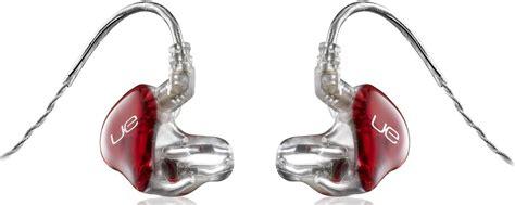 inner ear monitors for singers ultimate ears ue6000 portable headphones and ue18 custom