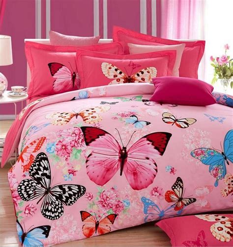 Butterfly Comforter Sets Size by