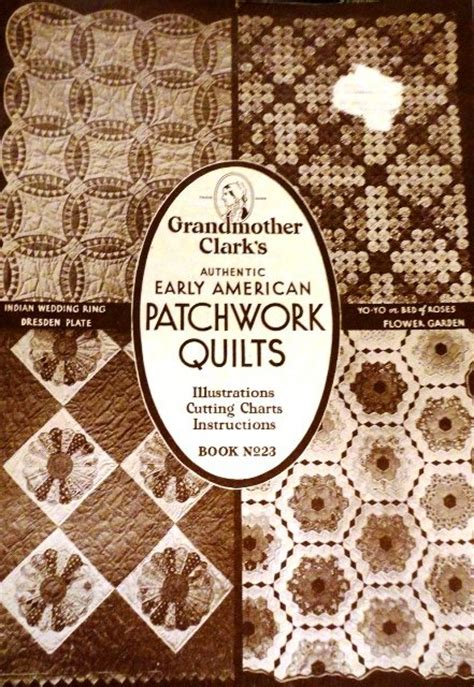 grandmother clark s authentic early american patchwork