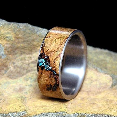 Wedding Rings Made Of Wood by 36 Unconventional Wedding Rings For Neatorama