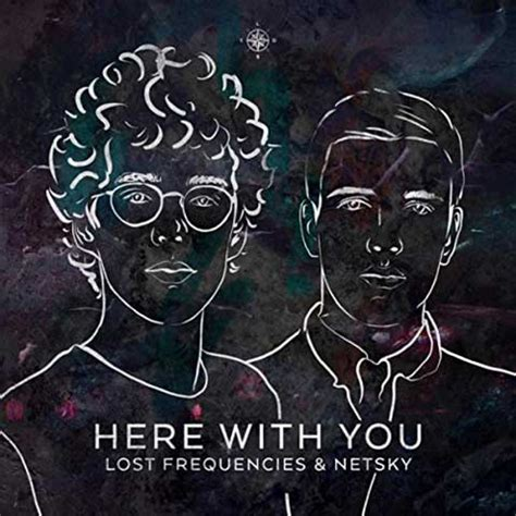 testo lost lost frequencies netsky here with you testo