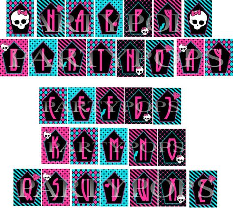 free printable monster alphabet letters 8 best images of printable monster letters free