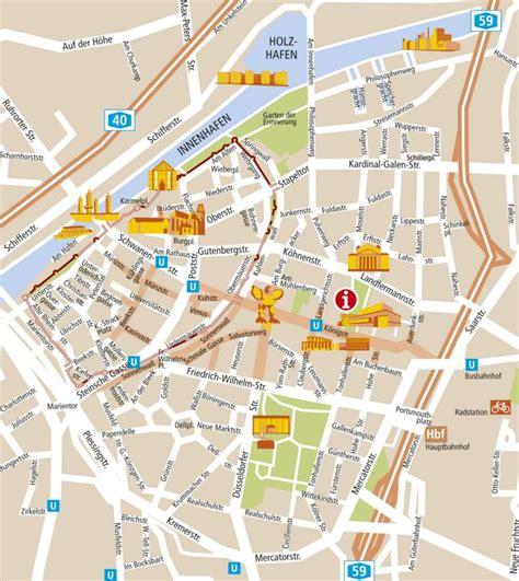 orange inn krefeld kaarten duisburg gedetailleerde gedrukte
