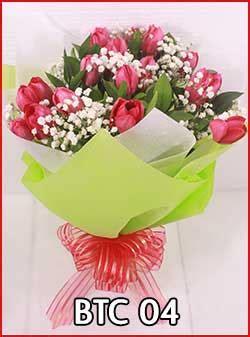 Buket Bunga Artificial Paket Sangkarvas Melamindekorasipajangan jual bunga tulip di indonesia untuk kado bunga