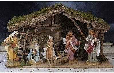 german nativity scene  nativity antique