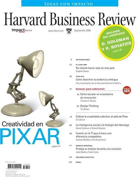Harvard Business Review Hbr Creativity In Advertising scaling up innovation l america edition harvard business review in