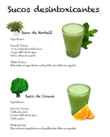 Suco Detox Receita by Suco Detox Receitas Suco Detox Suco E