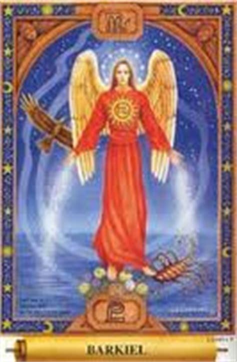 angel del signo virgo espiritualidad angel barkiel signo escorpion