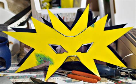 Zapdos Papercraft - zapdos mask by spiked fox on deviantart